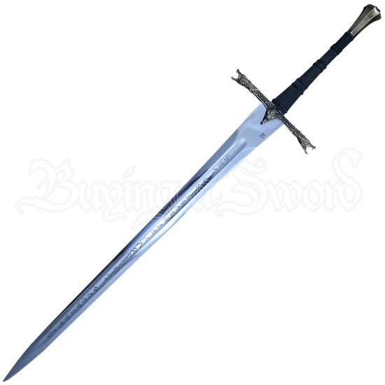 Eindride Lone Wolf Sword With Scabbard and Belt