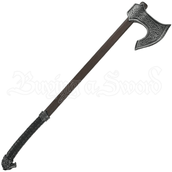 Two Handed Krieger LARP Axe
