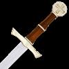 Brass Hilt Crusader Sword