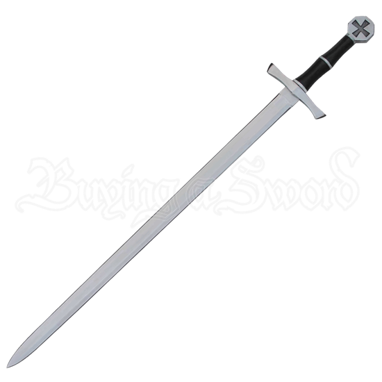 Steel Hilt Crusader Sword