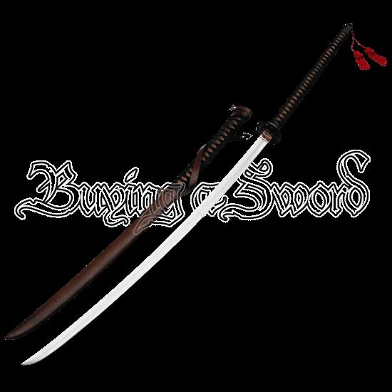 Full Tang O Dachi Great Samurai Sword