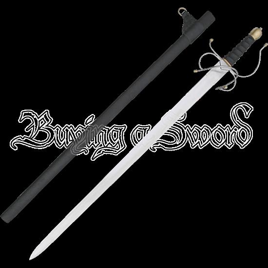 Traditional Colada Broadsword Rapier