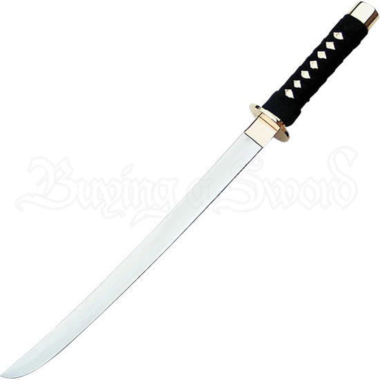 Golden Warrior Samurai Wakizashi