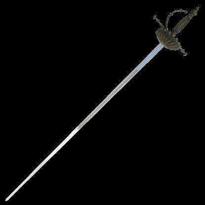 Shell Hilt Renaissance Sword
