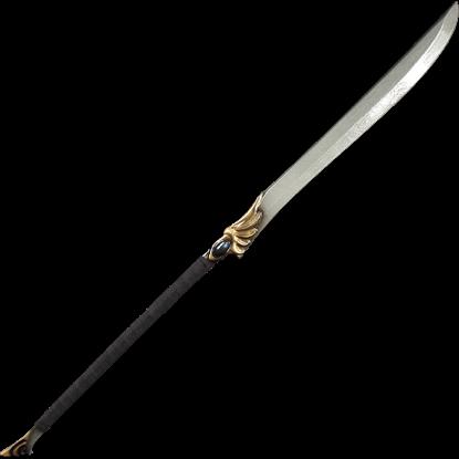 High Elven Black LARP Naginata