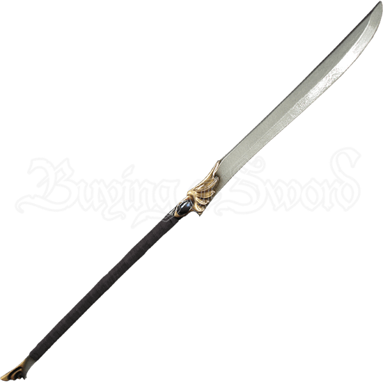 High Elven Black LARP Naginata