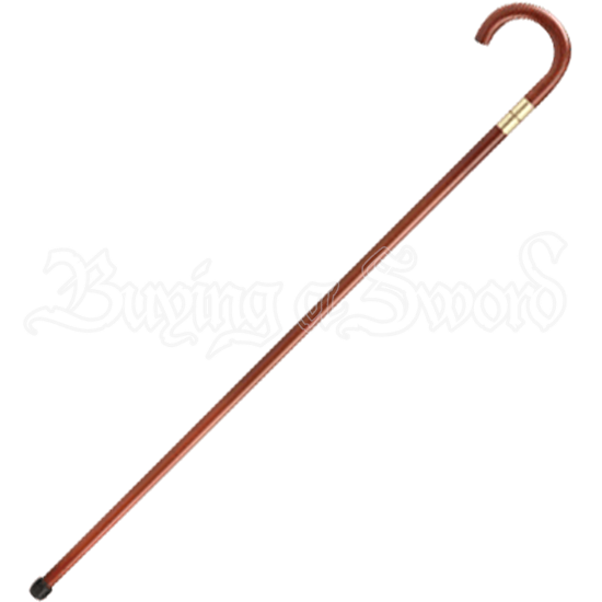 Scorched Burgundy Sword Cane