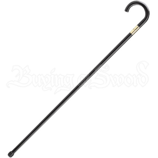 Scorched Black Sword Cane
