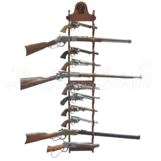 Wood Sword Stand