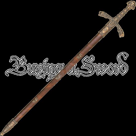 Brass Richard the Lionheart Sword