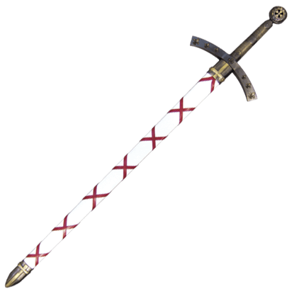 Brass First Crusade Iiugo De Payens Sword