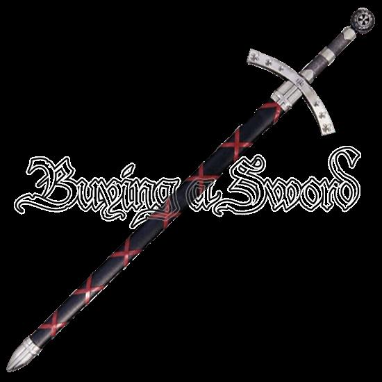 Nickel First Crusade Iiugo De Payens Sword