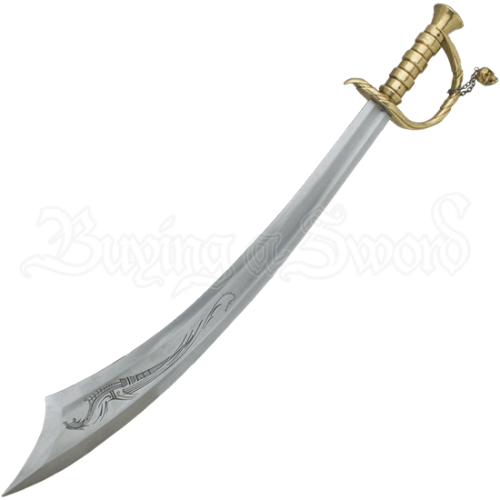 Edward Teach Blackbeard Pirate Scimitar