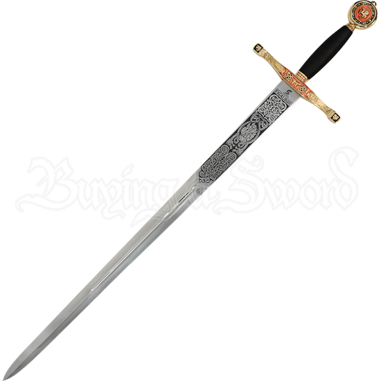 Gold Excalibur Sword