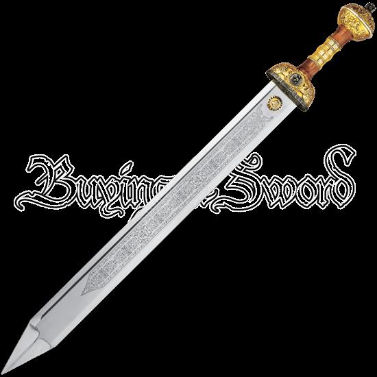 Gold Julius Caesar Sword