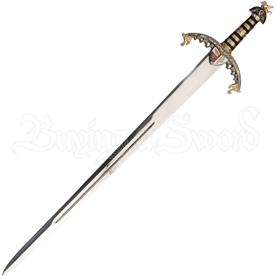 Gold Hilt Richard the Lionheart Sword