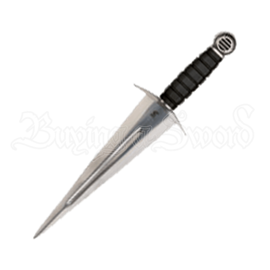 Daguesse Dagger with Leather Scabbard
