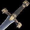 Persian Ceremonial Sword - Black & Gold