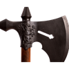 15th Century French Black Battle Axe