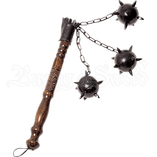 Small Three Ball Medieval Flail