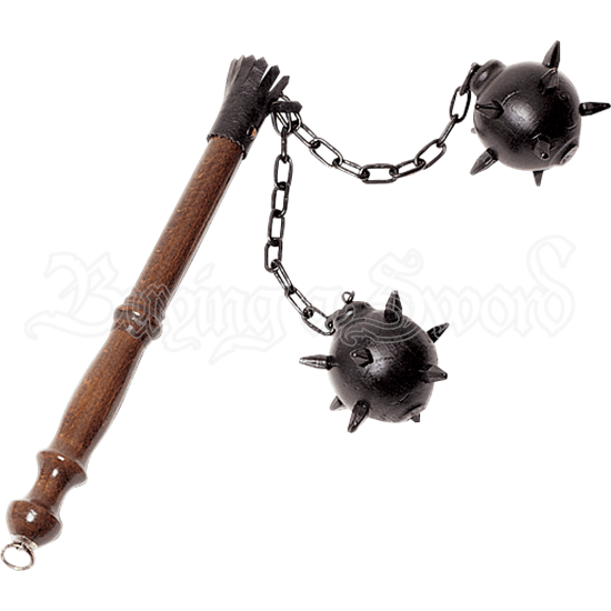 Medium Two Ball Medieval Flail