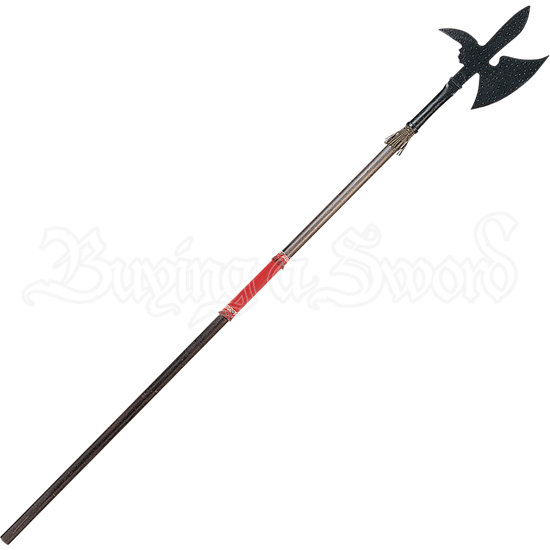 Spurred 16th Century Decorative Medieval Halberd