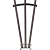 Display Stand for Three Halberds