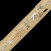 Damascus Katana with Marble Bamboo Scabbard