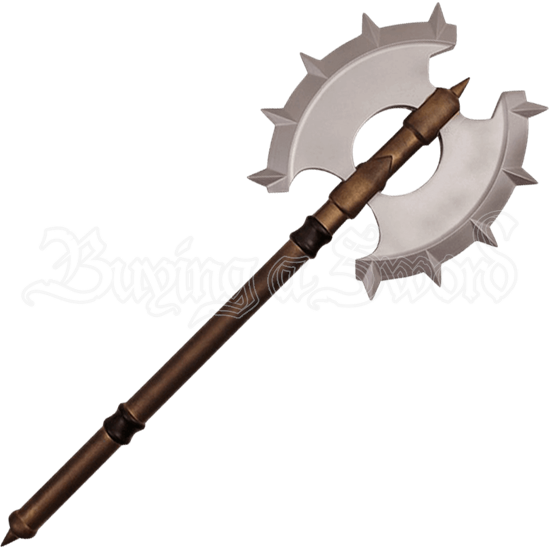 Spiked Double Headed LARP Axe