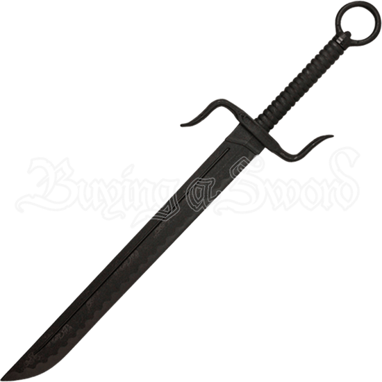 Black Polypropylene S-Guard Dao Sword