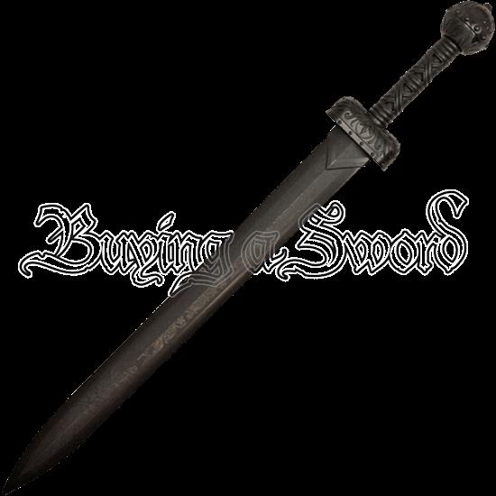 Black Polypropylene Roman Gladius Sword