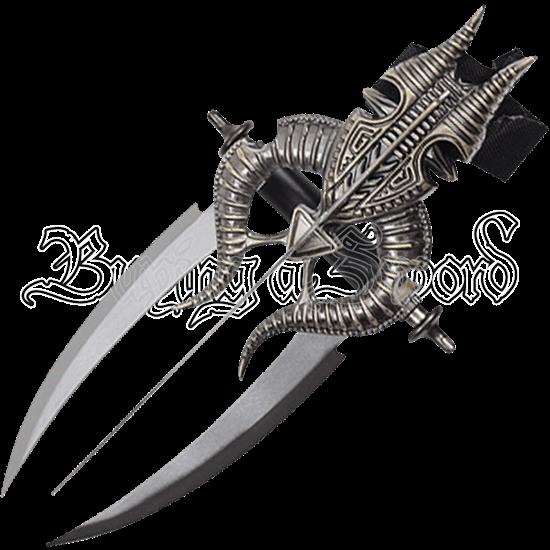 Ram Horn Triple Wrist Blade