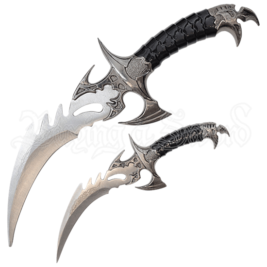 Bird of Prey Fantasy Dagger Set