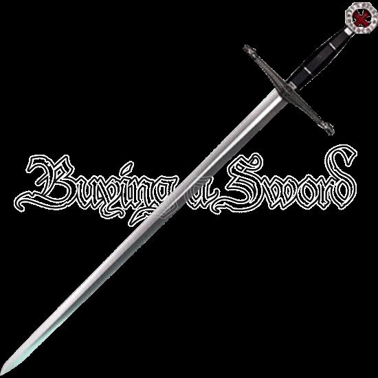 Knights Templar Red Cross Sword