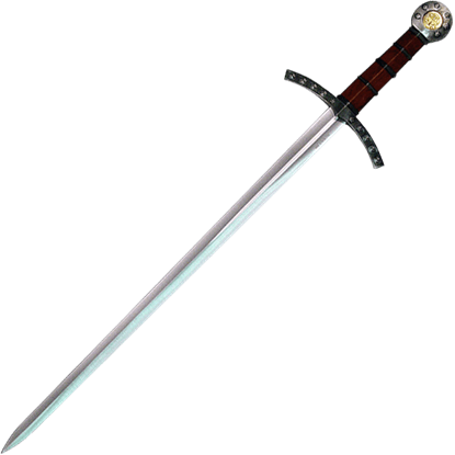 Knights Templar Brown Hilt Crusader Sword