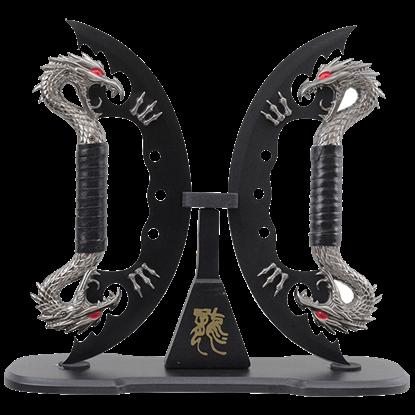 Dual Black Dragon Blades