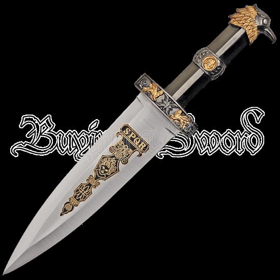 Brass Finish Roman Eagle Dagger