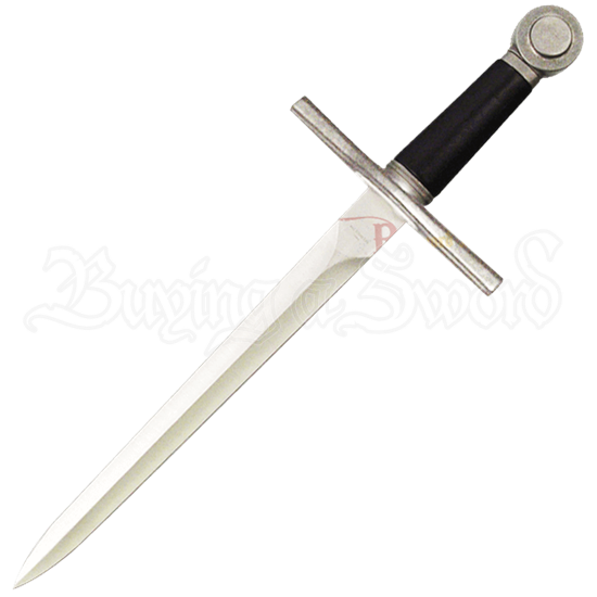 Medieval Handmade Knights Dagger with Scabbard