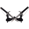Demon Skull Interlocking Double Blades