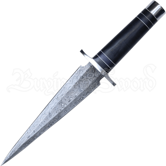 Double Edge Damascus Dagger