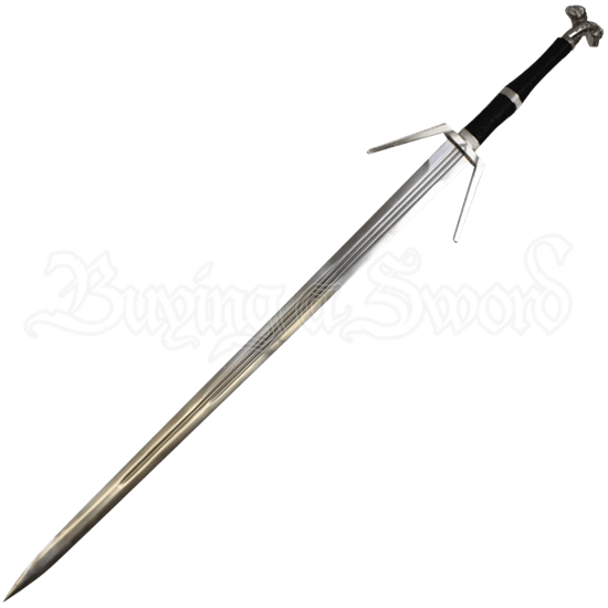 The Witcher III Decorative Silver Sword
