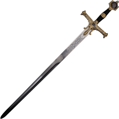 Black King Solomon Sword