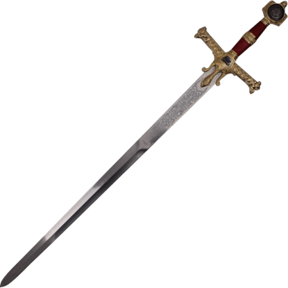 Red and Gold King Solomon Sword