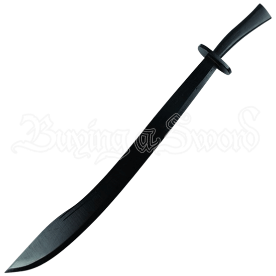 Black Wooden Chinese Dao Sword