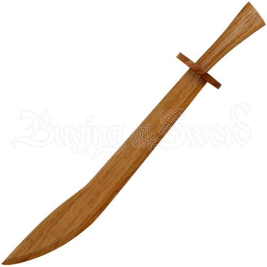 Training Middle Age Knight Wooden Practice Crusader Sword Costume
