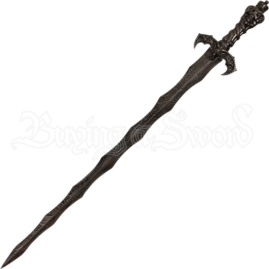 Skeleton King Flame Sword