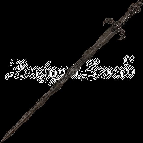 Skeleton King Flame Sword