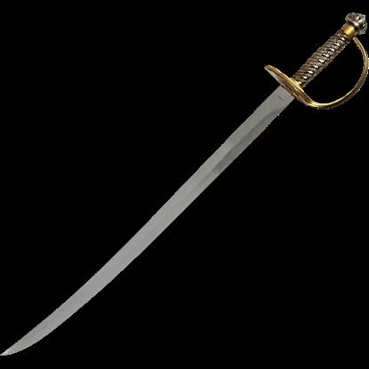 Brass Hilt Caribbean Pirate Sword