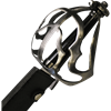 Wavy Basket Hilt Pirate Cutlass