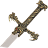 Dragon King Sword with Plaque